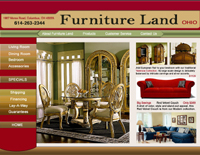Webphotographix Homepage Design Layout - Furniture Land